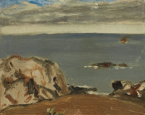 Artwork by James Wilson Morrice, Coast, Brittany