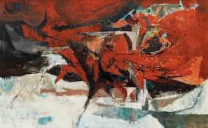 Artwork by Ronald York Wilson, The Bull Fight