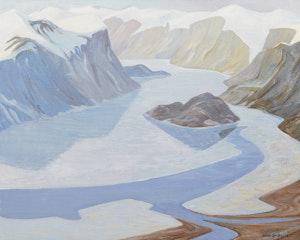 Artwork by Doris Jean McCarthy, Pangnirtung