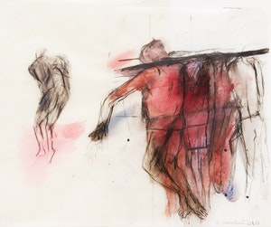 Artwork by Betty Roodish Goodwin, Figures