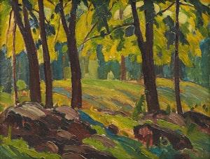 Artwork by George Henry Griffin, Summer Landscape
