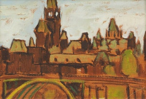 Artwork by Robert Francis Michael McInnis, Parliament Buildings, Ottawa
