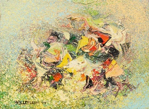 Artwork by Léon Bellefleur, Été Provençal