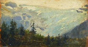 Artwork by Frederic Marlett Bell-Smith, Mountain Landscape; Mountain Valley