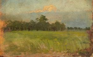 Artwork by Frederic Marlett Bell-Smith, Dutch Landscape