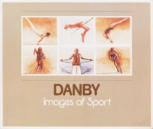 """Artwork by Kenneth Danby, Six Olympic Prints and """"Danby: Images of Sport"""" book"""