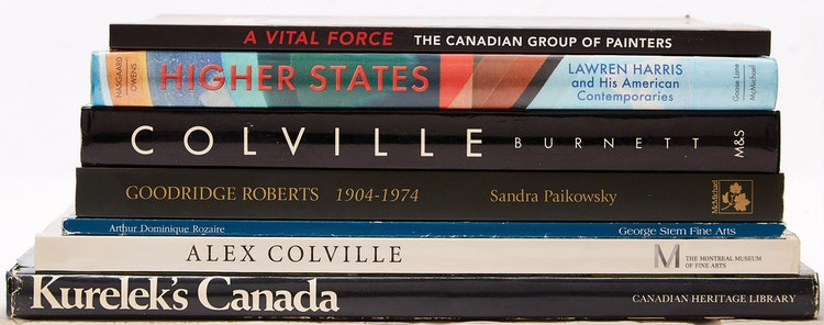 Artwork by  Books and Reference,  Seven Canadian Art Reference Books