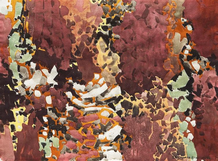 Artwork by Roy Kiyooka,  Abstraction (Emma Lake)