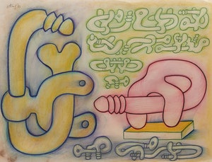 Artwork by Sorel Etrog, Ohne Titel (1973)