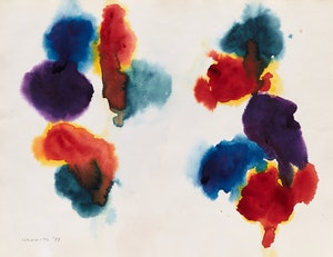 Artwork by Gershon Iskowitz, Abstraction, 1977