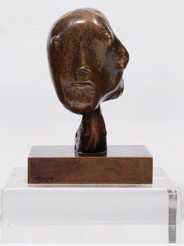 Artwork by Henry Moore, Head, 1981