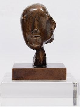 Artwork by Henry Moore, Head, 1981