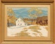 Thumbnail of Artwork by Joachim George Gauthier,  Homestead in Winter