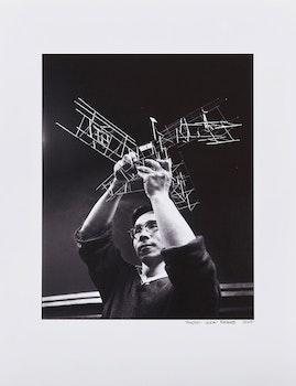 Artwork by John Reeves, Portrait of Kazuo Nakamura