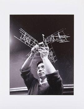 Artwork by John Reeves, Test Print Portrait of Kazuo Nakamura