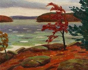 Artwork by George Thomson, High Wind