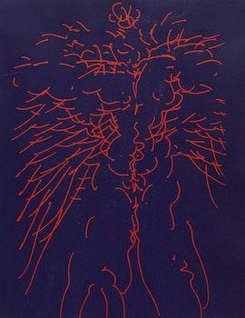 Artwork by Gerald Gladstone, Untitled (Universal Man)