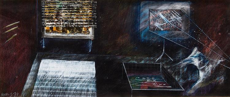 Artwork by Tom Hopkins,  Untitled (Interior Study)