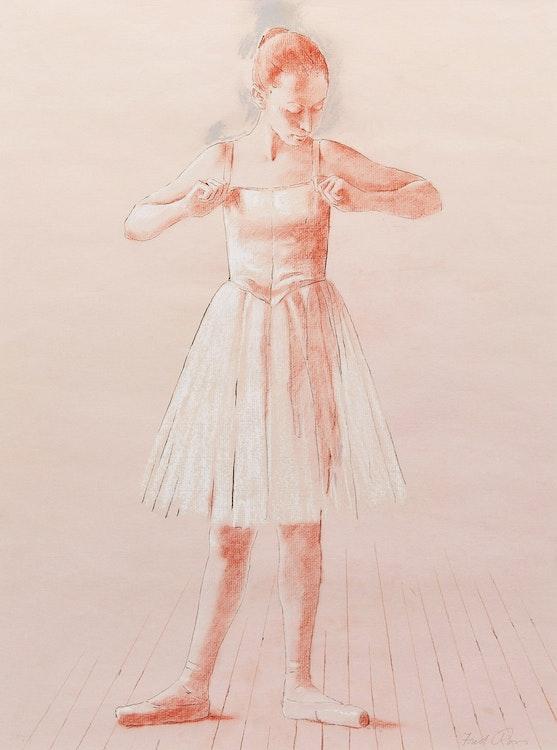 Artwork by Fred Ross,  Dancer Standing