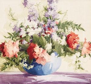 Artwork by William Garnet Hazard, Floral Still Life