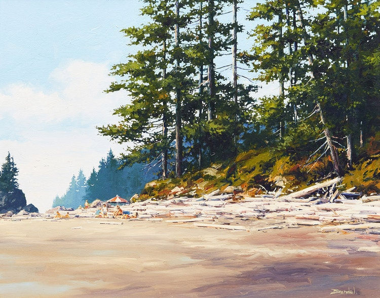 Artwork by Merv Brandel,  Pacific Rim