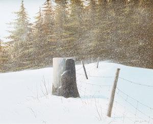 Artwork by Grant Hillman, The Woodlot
