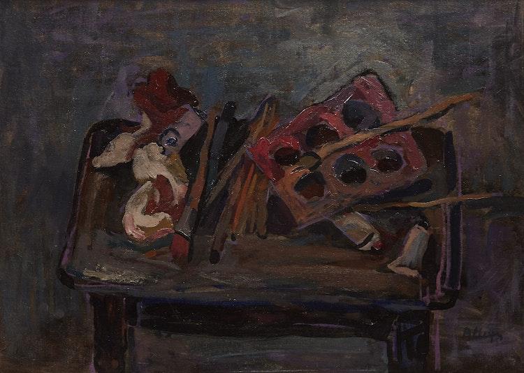 Artwork by Edmund Alleyn,  Le Table de l'Artiste