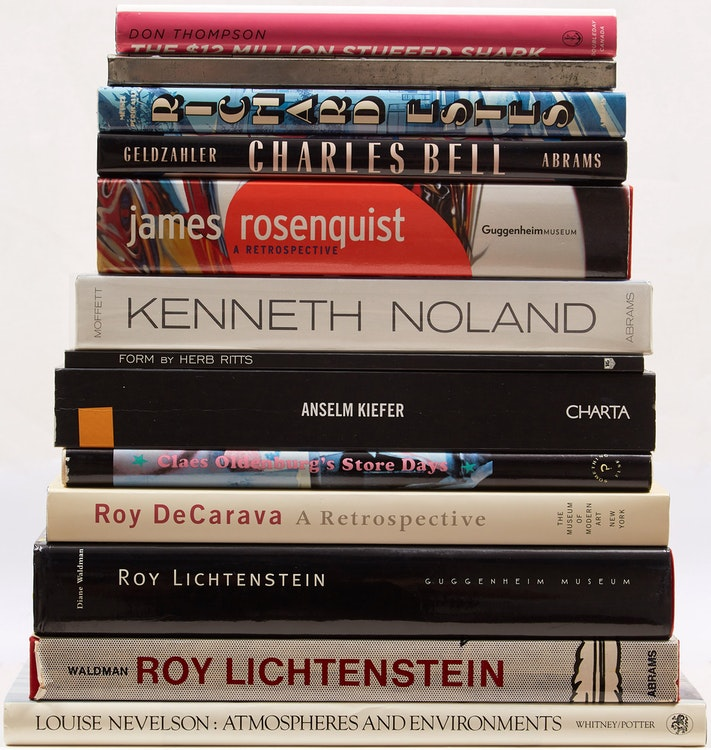 Artwork by  Books and Reference,  Thirteen International Art Reference Books
