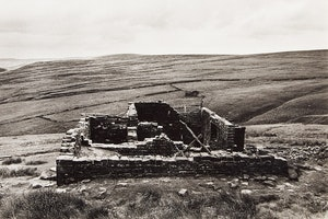 """Artwork by John Reeves, Bronte Country Suite: Haworth Moor and the Ruins of """"Top Withens""""; Untitled (Arctic Landscape)"""