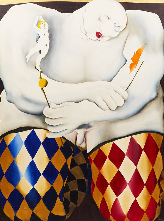 Artwork by Dennis Geden,  Arlequin