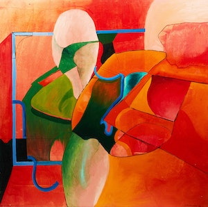 Artwork by James Gordaneer, Untitled Abstract
