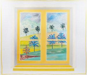 Artwork by David Bolduc, East Window