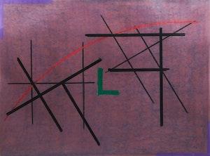 Artwork by John Tiley, Elbow for El Lissitzky