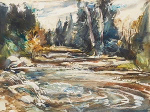 Artwork by Frank Leonard Brooks, Elora