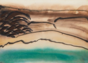 Artwork by Kathleen Margaret Graham, Upon Many Waters (Arctic Series)
