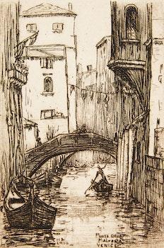 Artwork by Caroline Helena Armington, Le vieux puits, Musée de Cluny, Paris; Rio Albrizzi Venice; Ponte Della Malvasia Venice