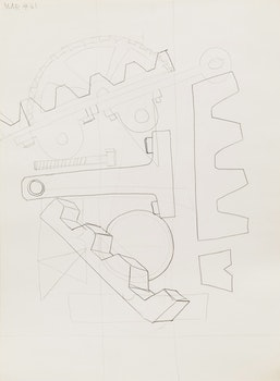 Artwork by Gerald Milne Moses, Twenty-Five Abstract Drawings