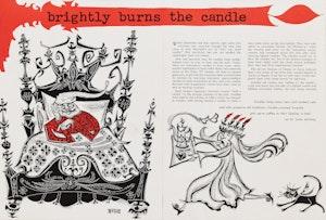Artwork by Harold Barling Town, Imperial Oil Review Drawings