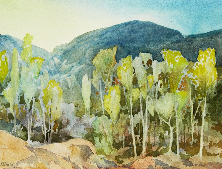 Artwork by Joachim George Gauthier,  Woodland Near Bancroft