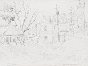 Artwork by Henry John Simpkins, Morin Heights; Kilrenny Cellardyke