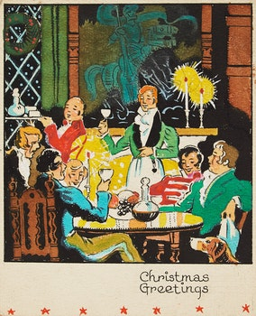 Artwork by Stanley Francis Turner, Fifteen Christmas cards; Four holiday studies; Two prints