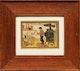 Thumbnail of Artwork by Clarence Alphonse Gagnon,  A Votre Santé