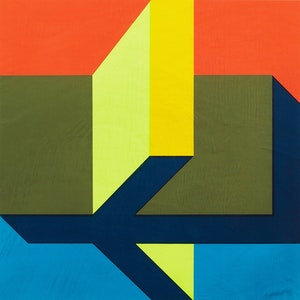 Artwork by David Chestnutt, Abstract Composition