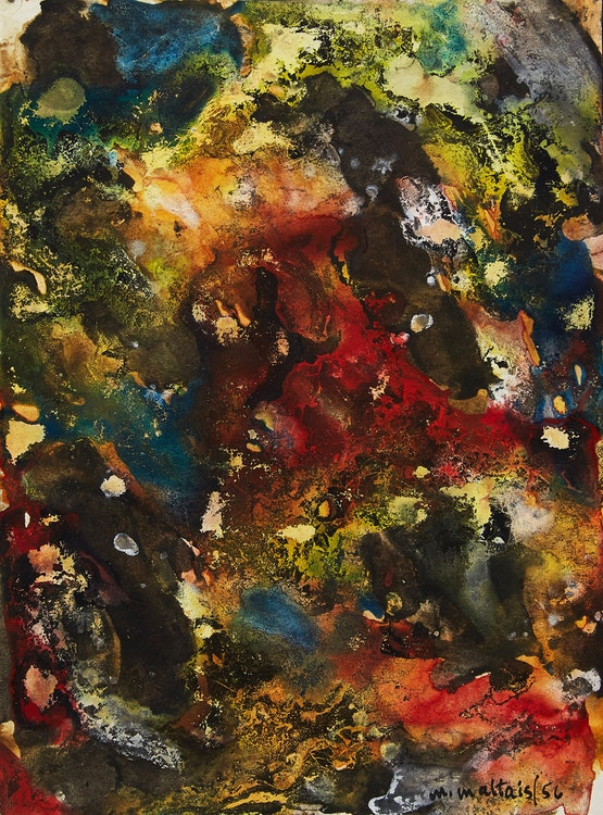 Artwork by Marcella Maltais,  Abstraction