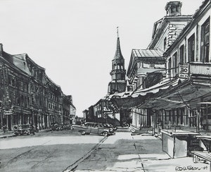 Artwork by R.D. Wilson, Collection of Urban Landscapes