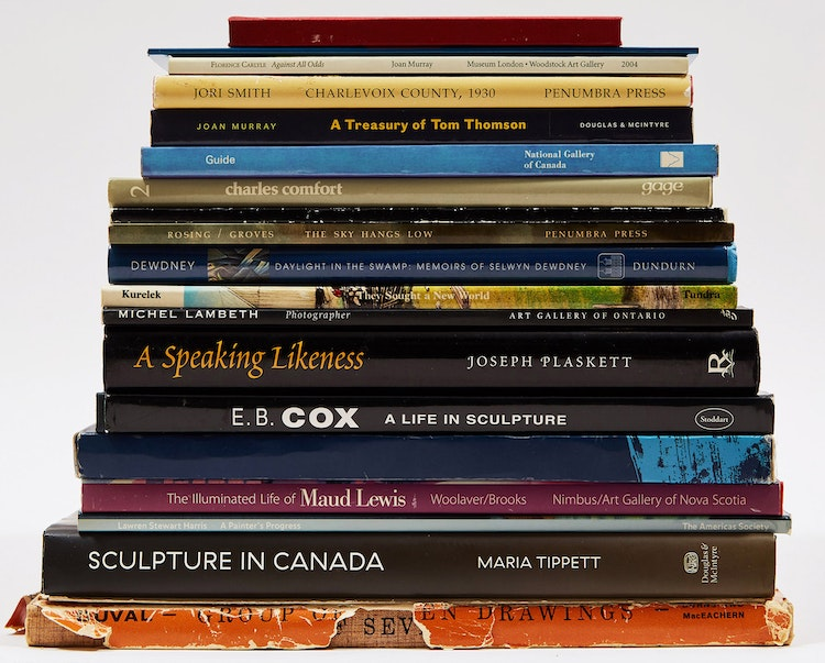 Artwork by  Books and Reference,  Twenty Canadian Art Reference Publications