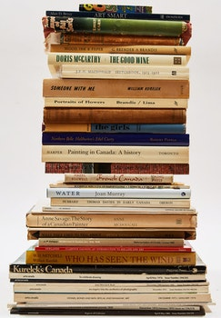 Artwork by  Books and Reference, Thirty-Eight Canadian Art Reference Books and Magazines