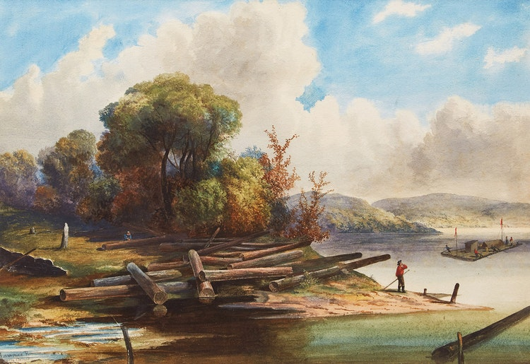 Artwork by  19th Century Canadian School,  Near Belleville