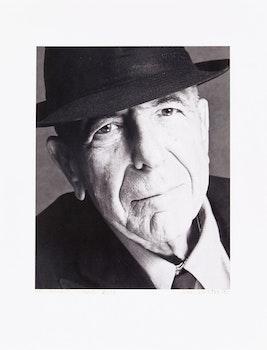 Artwork by John Reeves, Leonard Cohen