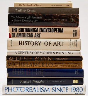 Artwork by  Books and Reference, Eleven International Art Reference Books